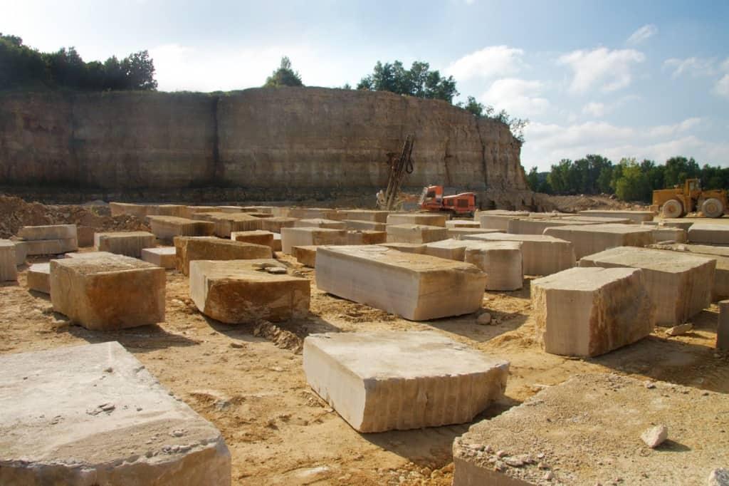 Biesanz stone quarry in Winona, MN
